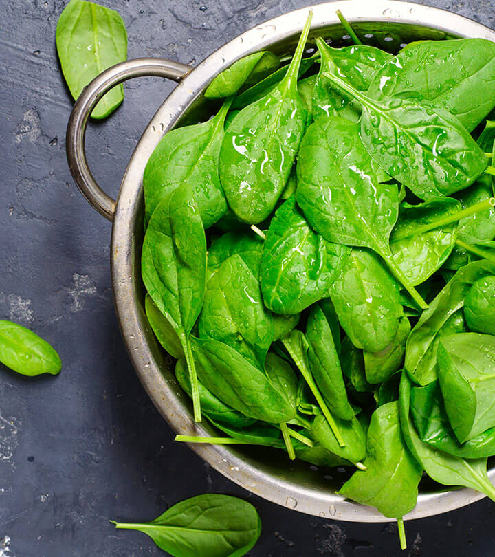Spinach For High Energy Foods