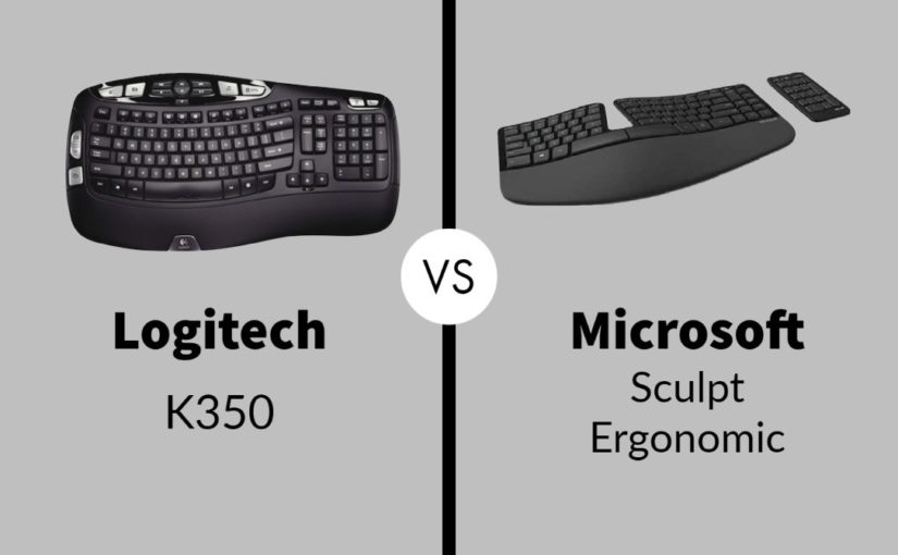 Logitech K350 vs Microsoft Sculpt Ergonomic: Which One Is Worth Buying?