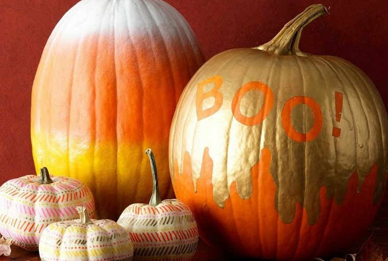 Stylish and Decorated Pumpkin Ideas for Halloween
