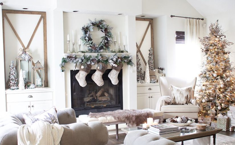 15 Ideas to Decorate Your Living Room at Christmas