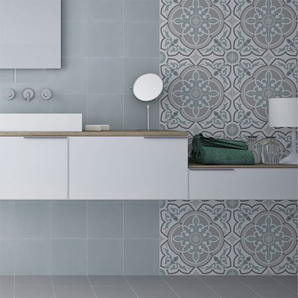 15 Original and Beautiful Ideas to Decorate With Hydraulic Tiles