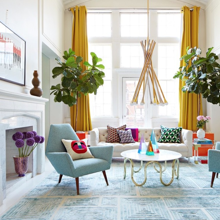 25 Decor Ideas for the Living Room Decoration in Spring